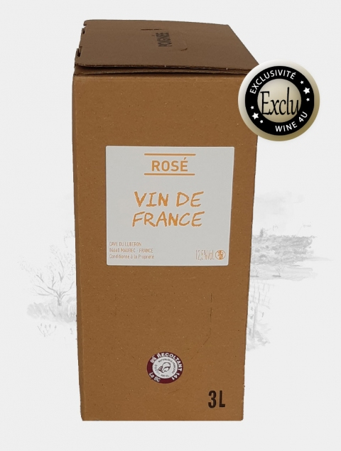bib 3L rosé cave du luberon